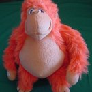 Toy Works Velcro Hands Orange Gorilla Stuffed Plush 8""