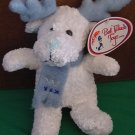 Best Made Toys White Reindeer Scarf Stuffed Plush 7""