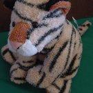 """Sweet Rascals Cute Tiger 2002 Floppy Beanie Plush 8"""""""