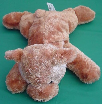 Russ Berrie Brambles Brown Bear Beanie Stuffed Plush 9""