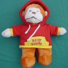 DanDee Best Buddy Hoody Orange Monkey Stuffed Plush 9""