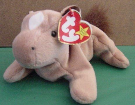 Ty Beanie Baby Derby Horse w/Star Tag Stuffed Plush