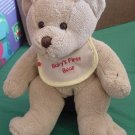 Baby's First Bear Light Brown Squishy Stuffed Plush 8""
