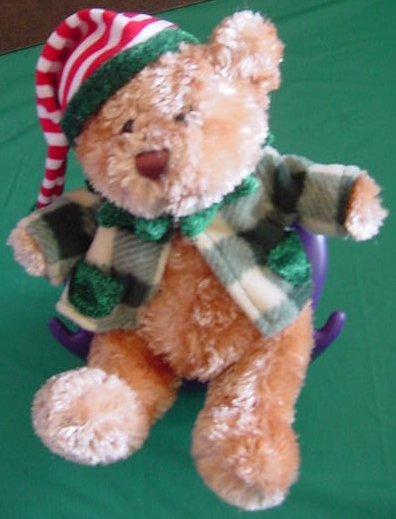 Kid Connection Elf Hat Christmas Bear Stuffed Plush
