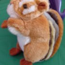 """Smithsonian's Back Yard Chipmunk Stuffed Plush 6"""" 1996"""