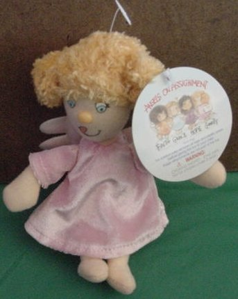 Angels on Assignment Charity Angel Stuffed Plush Tag