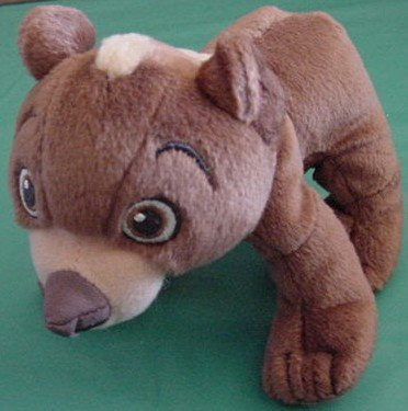 Disney Hasbro Brother Bear Koda Beanie Plush 6""