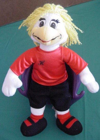 """Chuck E Cheese Helen Hen Soccer Stuffed Plush 11"""""""