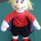 Chuck E Cheese Helen Hen Soccer Stuffed Plush 11""