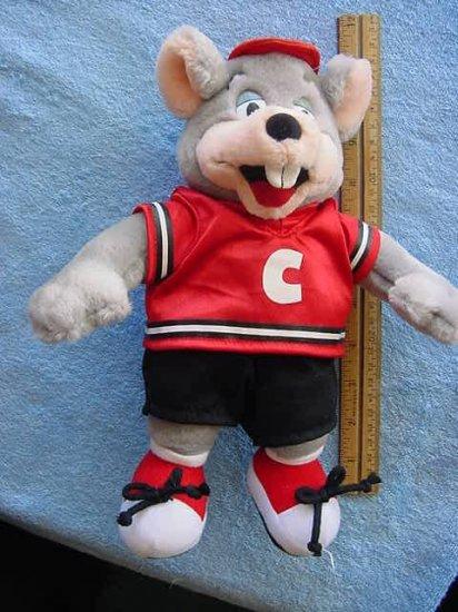 "Chuck E Cheese Soccer Player Stuffed Plush 11"""