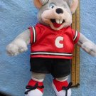 Chuck E Cheese Soccer Player Stuffed Plush 11""