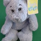DGE Corp Blue Beanie Bear Stuffed Plush Snuggle Toy 10""