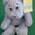 "DGE Corp Blue Beanie Bear Stuffed Plush Snuggle Toy 10"""