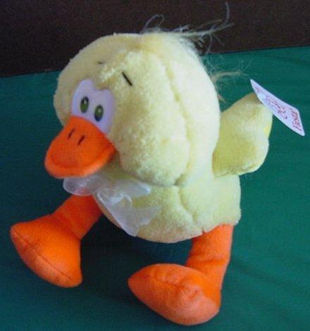 "Fiesta Cute Yellow Dizzy Duck Stuffed Plush 7.5"" Tag"