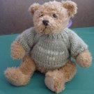 Thinking of You Sweater Brown Bear Stuffed Plush 7.5""