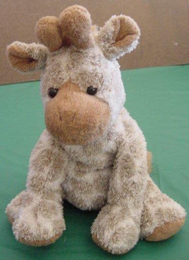 "Sweet Rascals Cute Giraffe 2002 Floppy Beanie Plush 8"""