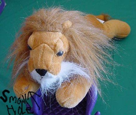"""Wonder Toys Brown Lion Mane 2002 Stuffed Plush 12"""" TLC"""