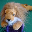 "Wonder Toys Brown Lion Mane 2002 Stuffed Plush 12"" TLC"