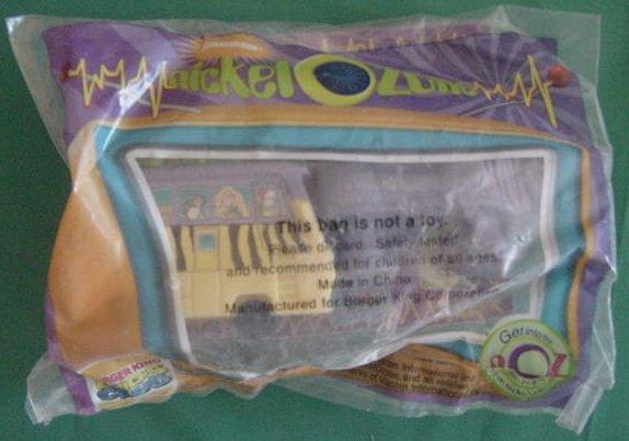 Burger King Wild Thornberrys Rhino & Van Meal Toy Bag