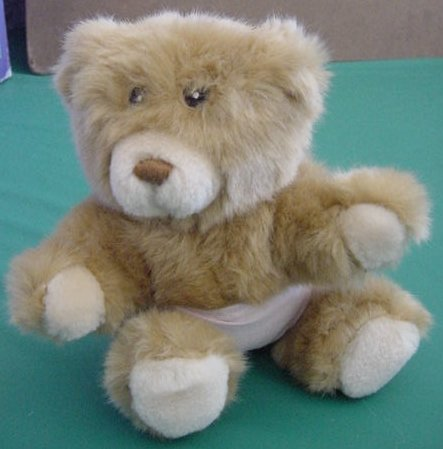 "Hasbro Build A Bear Light Brown Stuffed Plush 6"" 05105"