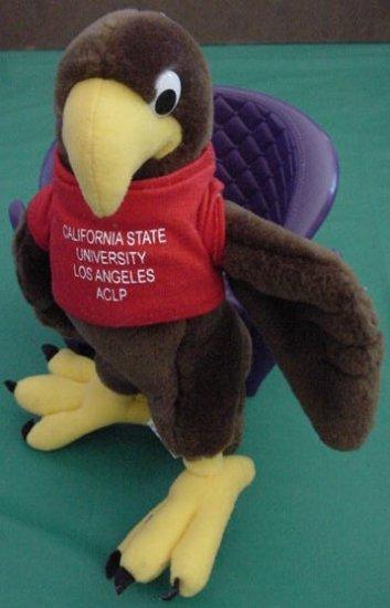 "California State University CSU Eagle Stuffed Plush 7"""