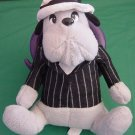 Classic Toy Co Old Time Gangster Dog Stuffed Plush 9""