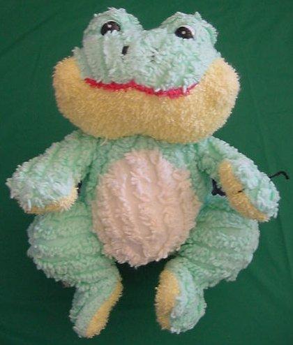 "Old MacDonald's Freddie Frog Stuffed Plush 9"" Croaks"
