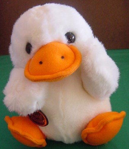 Westcliff Collection Chubby White Duck Stuffed Plush