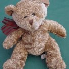 Kel-toy Kellytoy Carmel Brown Bear Beanie Plush 5""