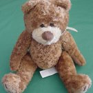 "Mary Meyer Soft Brown Bear Beanie Stuffed Plush 6"""