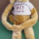 All Greek To Me Velcro Hands Feet MIT Dog Stuffed Plush