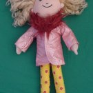 Groovy Girls Sesilia Doll Pink Coat Stuffed Plush 12""