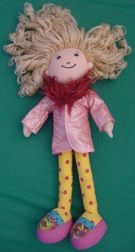 "Groovy Girls Sesilia Doll Pink Coat Stuffed Plush 12"""