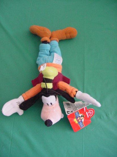"Goofy Dog Disney Applause Bean Bag Plush 8"" Tag"