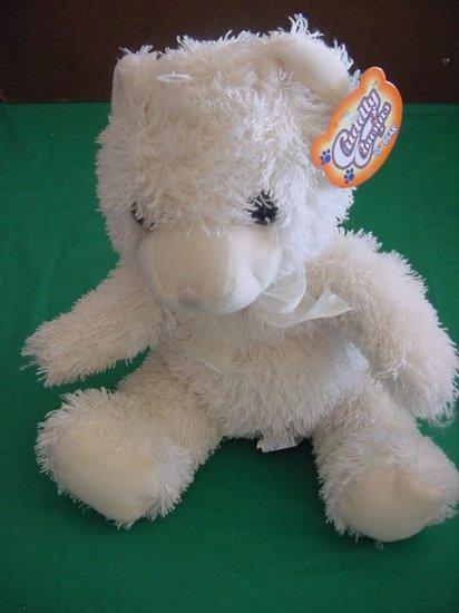 """Greenbrier Int Cuddly Cream Bear Stuffed Plush Tag 9"""""""
