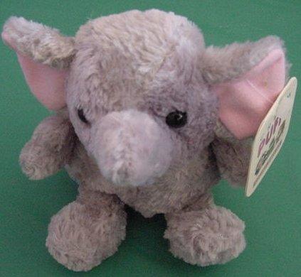 "Preferred Plush Ellen Elephant Beanie Plush 4"" Tag"
