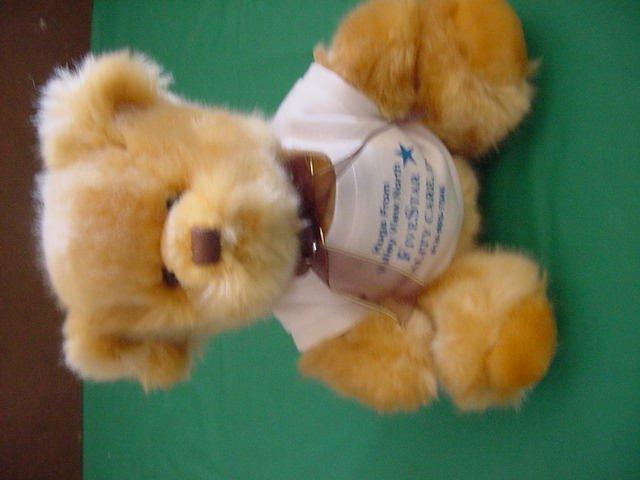 "Steven Smith Quality Care Brown Bear Stuffed Plush 7"""
