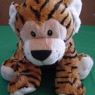 Soft Floppy Bengal Tiger Orange Stuffed Plush 9.5""