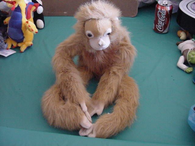 """Aurora Velcro Hands & Feet Orangutan Stuffed Plush 16"""""""