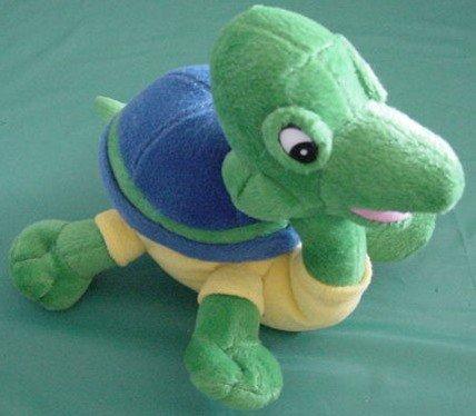 """Circus Circus Casino Funny Turtle Stuffed Plush 7"""""""