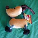"Disney Store Rolie Polie Olie Spot Dog Beanie Plush 6"""