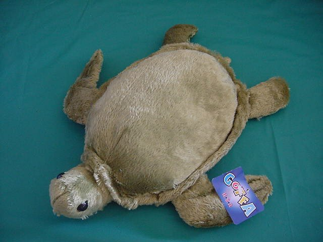 Goffa International Green Turtle Stuffed Plush 10""