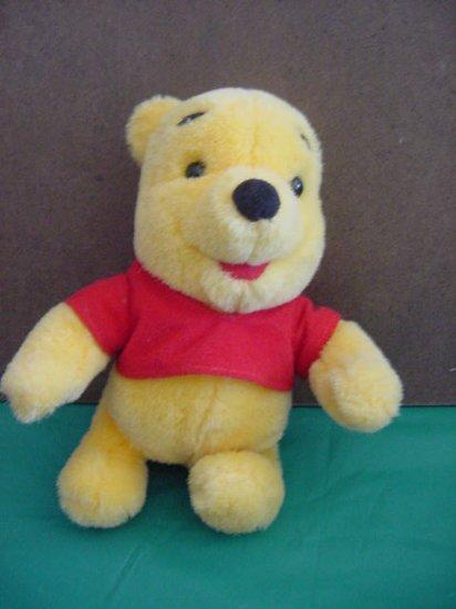 """Winnie the Pooh Bear Mattel 1997 Stuffed Plush 7"""""""