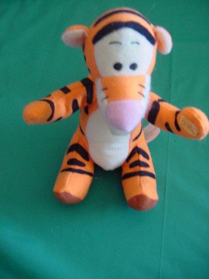 """Winnie the Pooh Tigger Mattel 1997 Beanie Plush 6"""""""