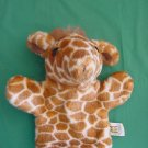 Manhattan Toy Cute Giraffe Stuffed Plush Hand Puppet 8""