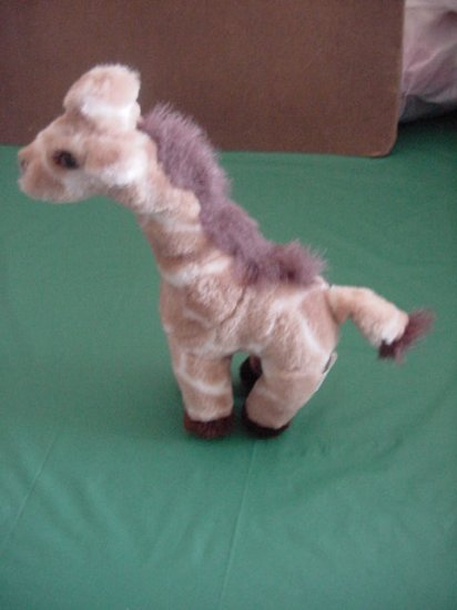 Plushland Giraffe Brown Cream Stuffed Plush 10""