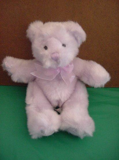"""Stig Jiansu Corp Cute Purple Bear Stuffed Plush 7"""""""