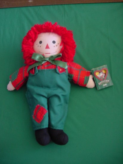 Raggedy Andy Snowden Target Stuffed Plush Doll 1998