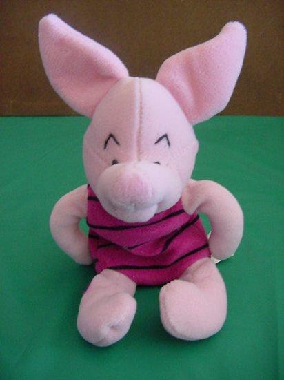 Winnie Pooh Piglet Grumpy Disney Beanie Stuffed Plush