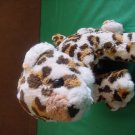 Wal-mart Spotted Leopard Cat Soft Stuffed Plush